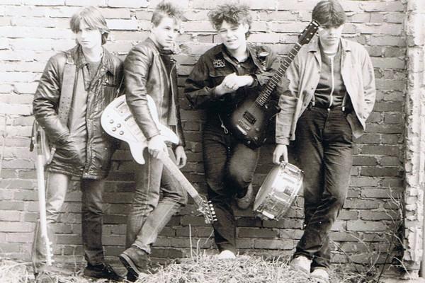 ...a pak punkrockové PVC...